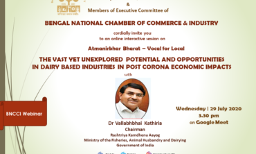 Unexplored Potential and Opportunities in Dairy Based Industries in Post Corona Economic Impacts