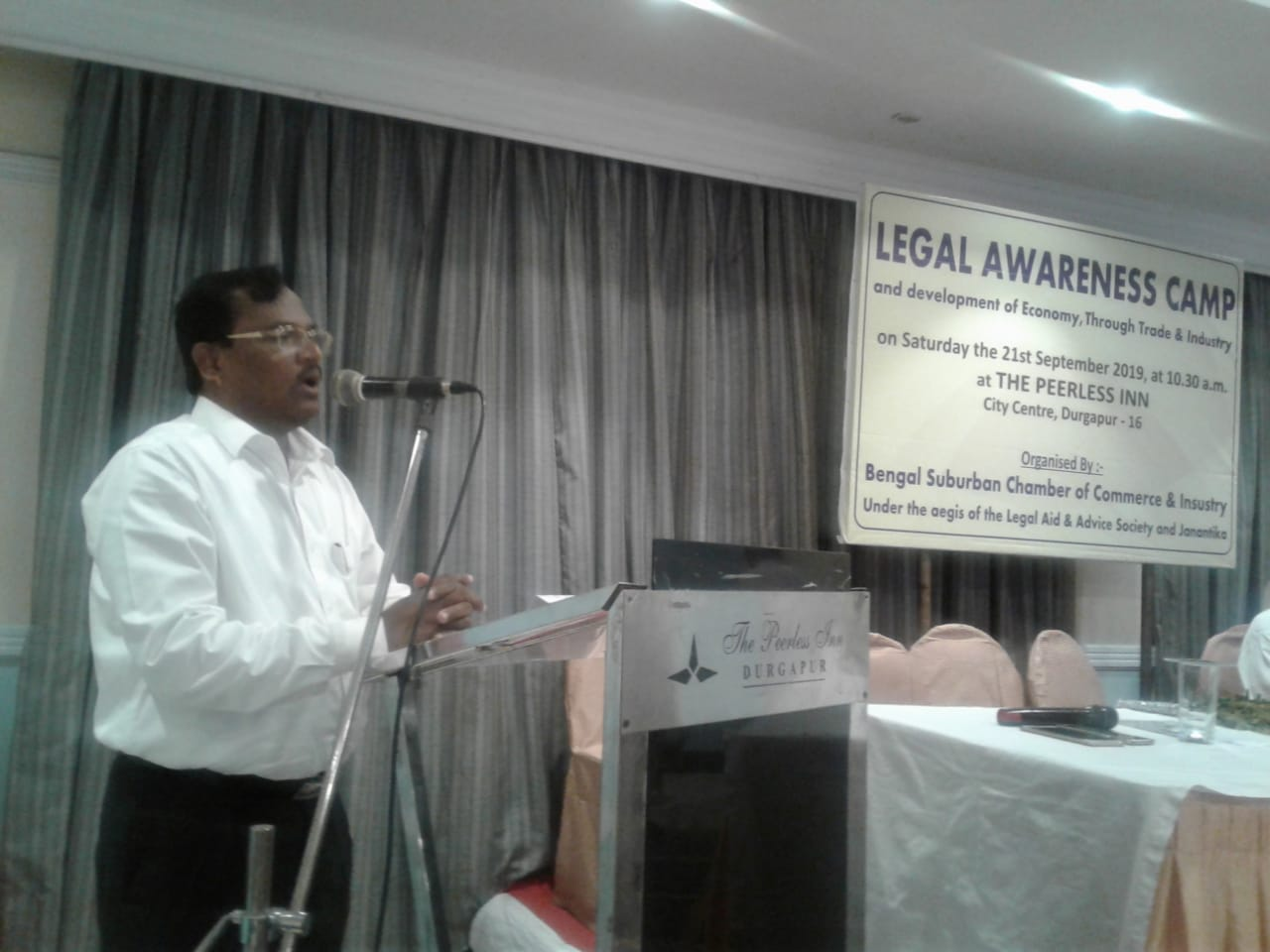 Legal and MSME Awareness Camp on 21st September, 2019
