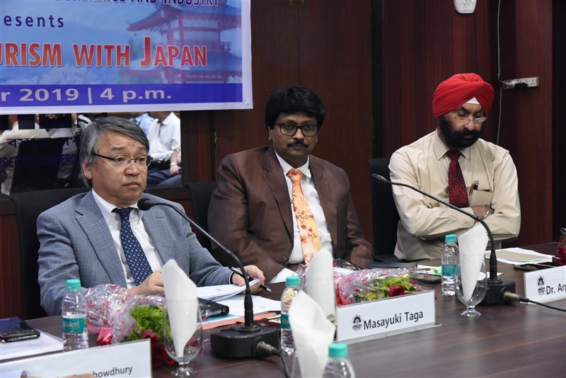 Interactive session on 'Trade and Tourism with Japan'on 18 October 2019.